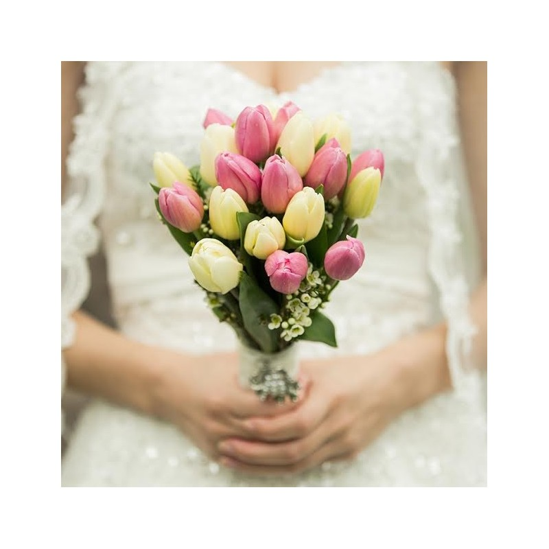 Bouquet elegancia de Tulipanes
