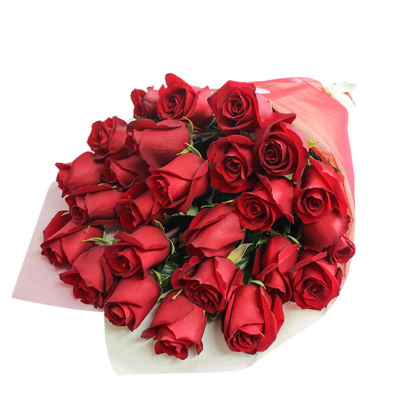Ramo De 24 Rosas Servicio De Delivery En Www Kukyflor Com