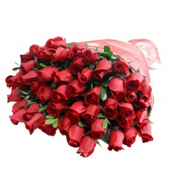 Bouquet 50 Red Roses