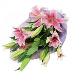Bouquet 5 Lilium Scented