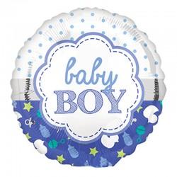 Globo nacimiento niño