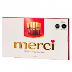 CHOCOLATES MERCI FINEST SELECTION 400 GR