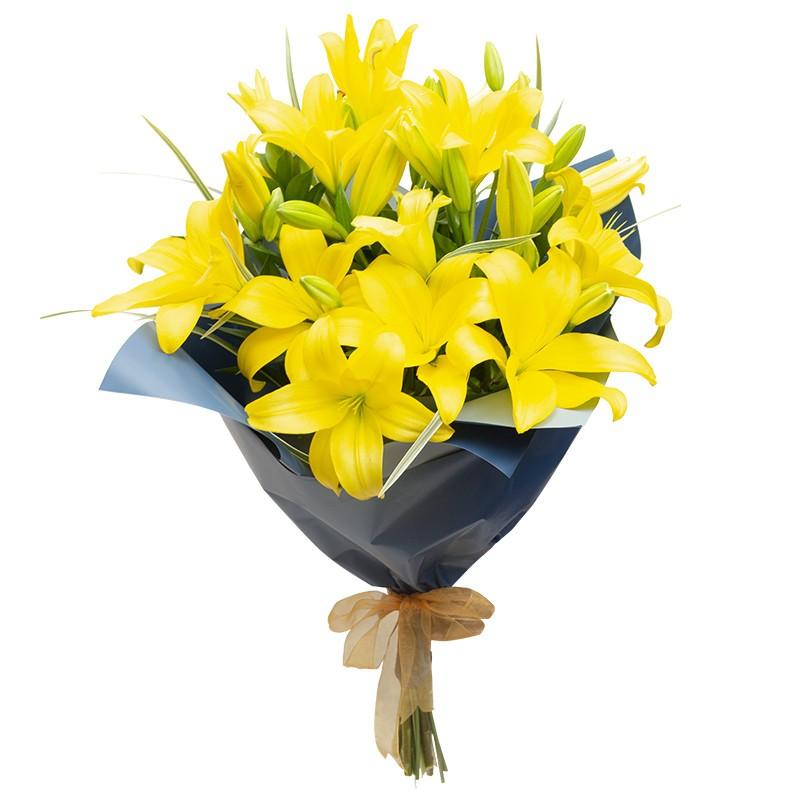 Bouquet 10 Lilium Scented