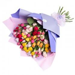 Ramo de Mini Rosas Variadas