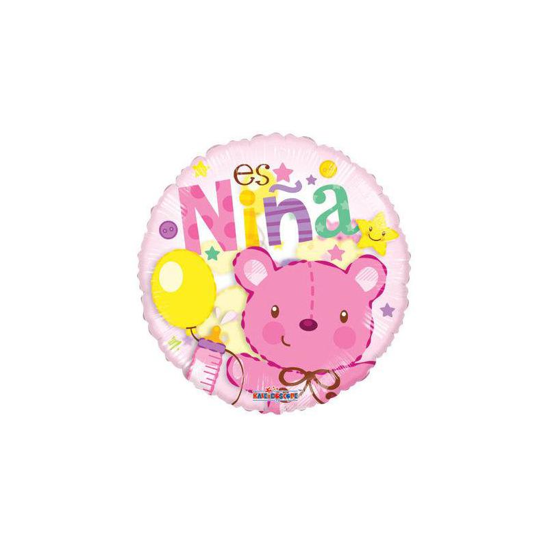 Globo Nacimiento Niña - Mediano