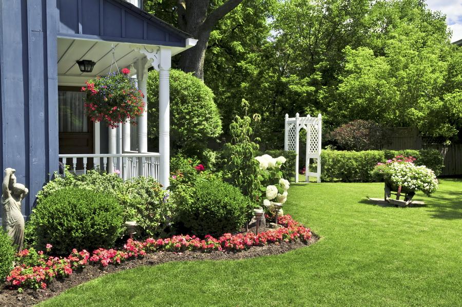 tienes una casa con un gran jardn quizs un pequeo patio no importa cun grande o pequeo sea toda rea verde encierra grandes para